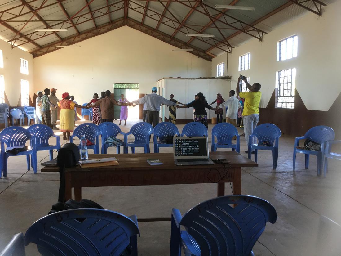 Community meetings in Taita Taveta