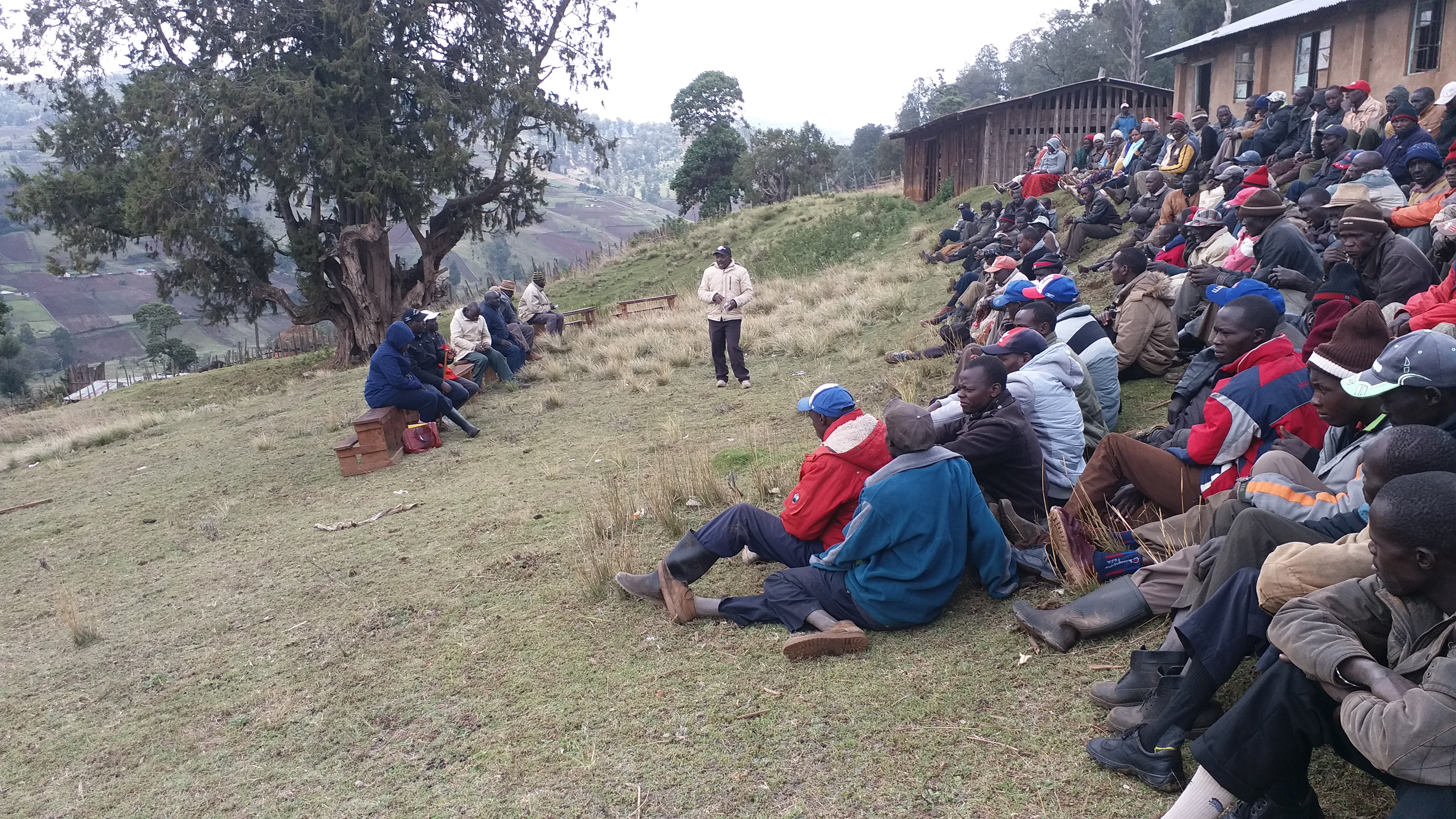 Address Issues of human rights violations and evictions on the Sengewer Community.