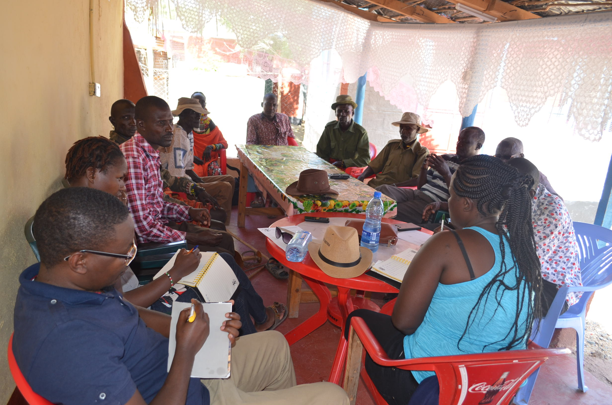 Discussion with Community Conservancy representatives of Turkana County on Business and Human Rights Issues