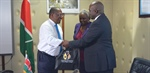 Courtesy call to Cabinet Secretary Environment and Forestry Hon. Keriako Tobiko