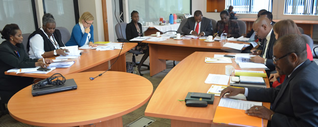 KNCHR hosting a meeting with UNDP and other ART 59 COMMISSIONS at their Nairobi offices