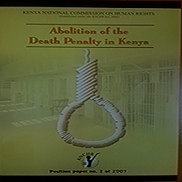 Abolition of death penalty