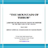 THE MOUNTAIN OF TERROR report