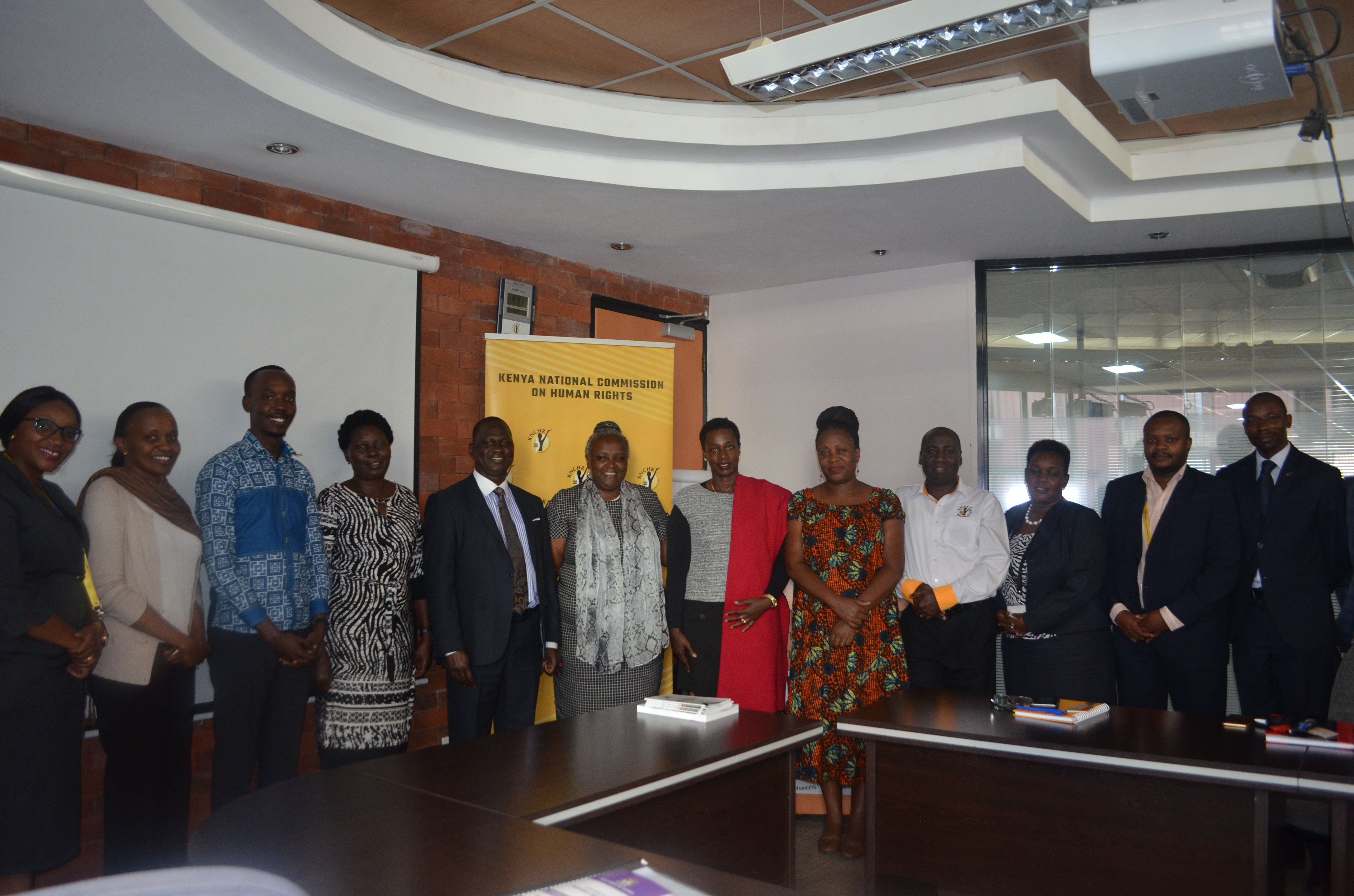 Ugandan Parliamentary Committee on Gender, Labor and Social Development Meets KNCHR.