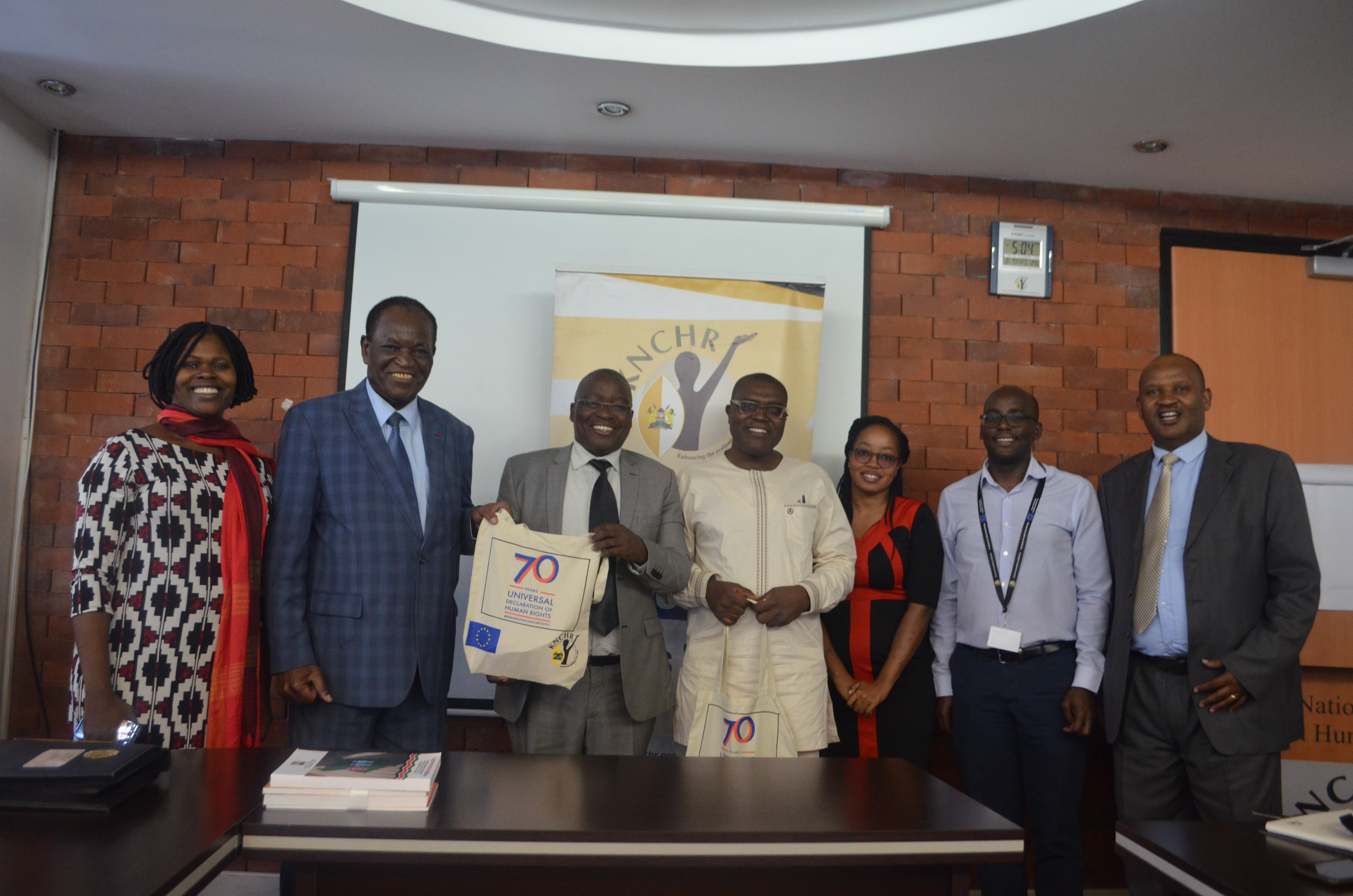 KNCHR Meets the Cameroon National Commission on Human Rights.